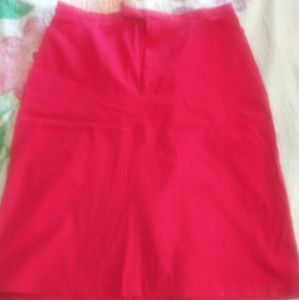 Briggs Red Skirt Size 10